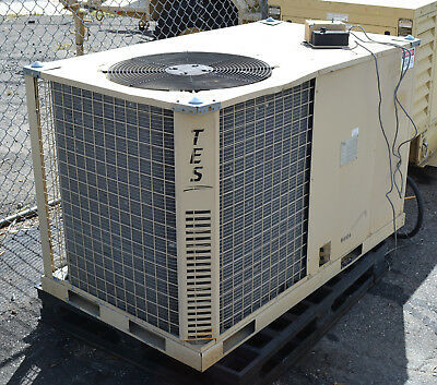 Military 5-Ton Ac Duct Air Conditioner Ecu & Heat 120/208V 3-Phase Portable Skid