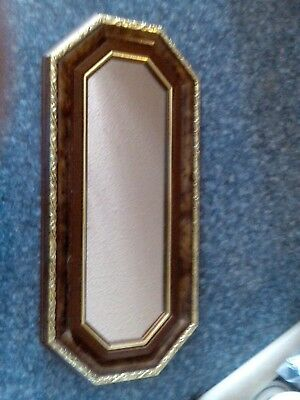 pre owned home interiors wood color and gold mirrors
