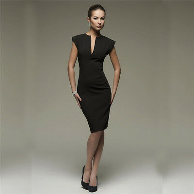 Spring Summer Sleeveless Ruffle Elegant Women Deep V-Neck Sexy Party Dress G