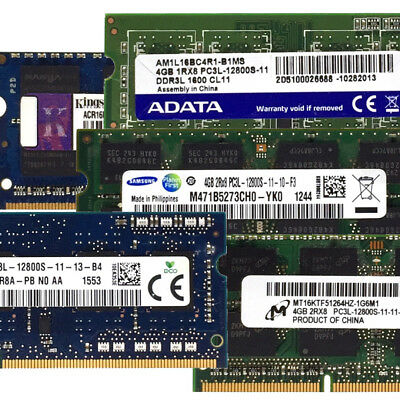 Samsung Hynix 1.35V RAM SO DIMM DDR3 PC3L 4GB 8GB 12800S 204Pin 1600Mhz Laptop