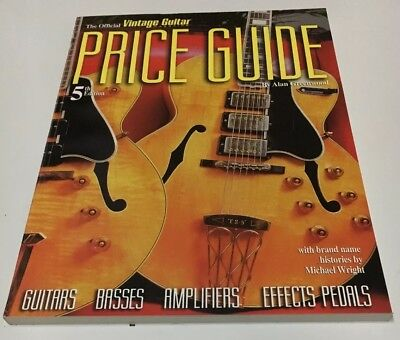The Official Vintage Guitar Instrument Price Guide 5th Edition. 1996