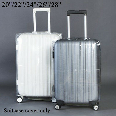 Waterproof Travel Luggage Suitcase Transparent Dustproof Cover Protector Case