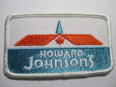 OLD Vintage Original Howard Johnsons Patch