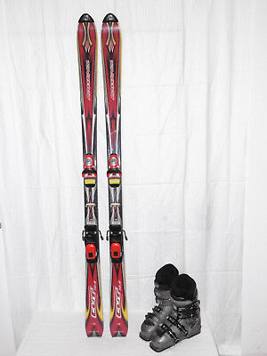 "Rossignol "" Cut "" Top Ski Allround Carver 160 Cm +  Skischuhe Gr.: 41 Im Set"