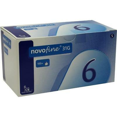 NovoFine 6mm PenTips 32G  100 Pieces Expiry 1/2022