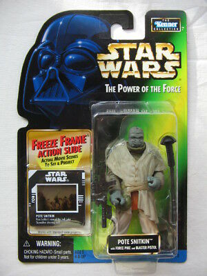 Star Wars POTF-2 - Pote Snitkin (Jabba's Helmsman) with Force Pike