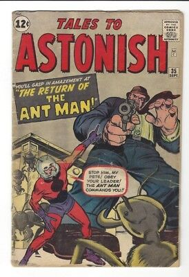 TALES TO ASTONISH 35 1st appearance ant-man costume 2nd app ever SOLID CM-02