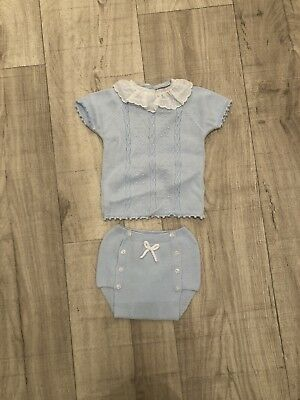 Spanish Baby Outfit 3-6m