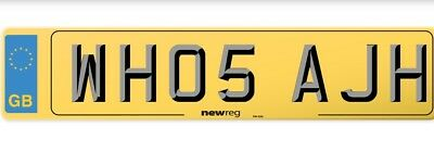 Personalised Registration Plate