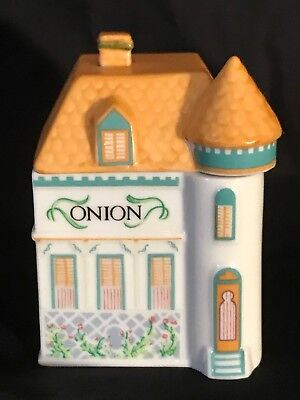 The Lenox Spice Village Fine Porcelain Spice Jar 1989 Onion Replacement