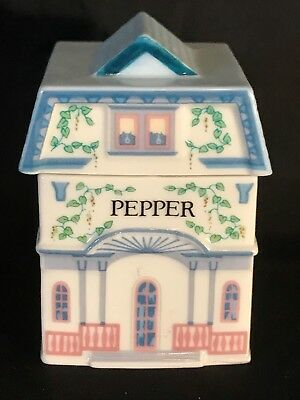 The Lenox Spice Village Fine Porcelain Spice Jar 1989 Pepper Replacement