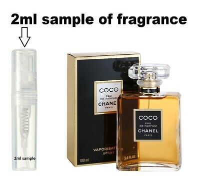 Chanel Coco women's Perfume Eau De Parfum EDP 2ml sample 100% genuine