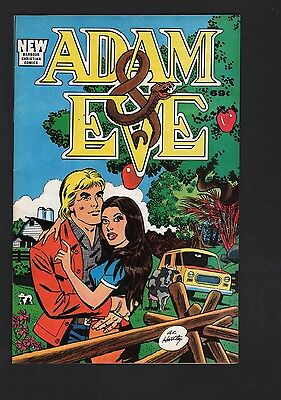Adam & Eve Barbour Christian Comics VF 8.0 Off White Pages 1988