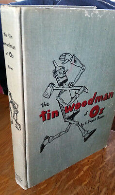 The Tin Woodman of OZ A sequel to The Wizard of Oz Book L. Frank Baum 1918