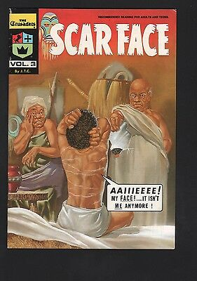 Crusaders #3 Scarface Chick Publications VG/F 5.0 White Pages