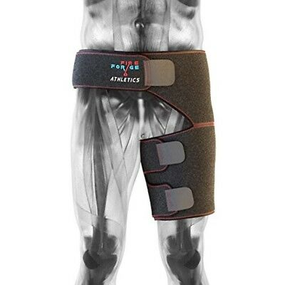Hip Brace Support and Groin Compression Wrap for Pulled Groin and Hamstring