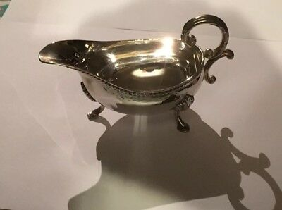 Sterling Silver Sauce Boat. Hallmarked 1973