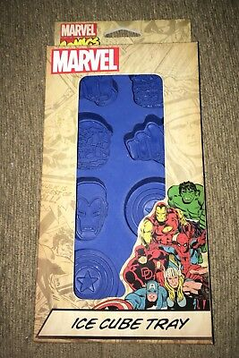 Official Marvel Avengers Ice Cube Tray Mold Loot Crate New Iron Man Hulk Thor