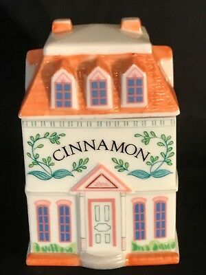 The Lenox Spice Village Fine Porcelain Spice Jar 1989 Cinnamon Replacement