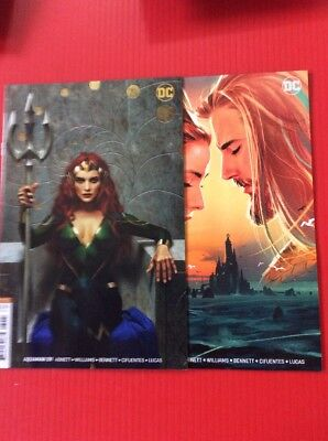 AQUAMAN #39 & 40  Variants Middleton Near Mint FREE SHIPPING Why Wait Buy It Now