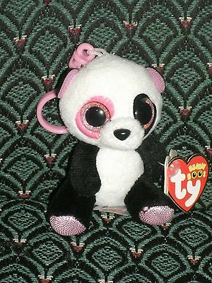 Ty Beanie Boo PENNY Justice Exclusive PANDA CLIP 2013 MWMT RARE & RETIRED HTF