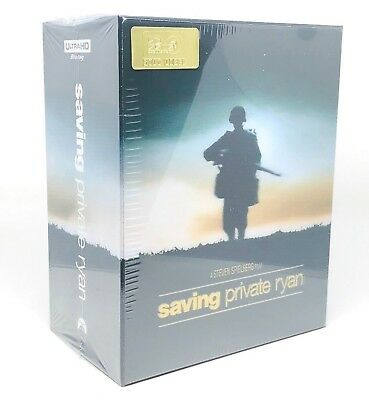 Saving Private Ryan 4K UHD & Blu-Ray Steelbook HDZETA 1-CLICK LENTICULAR BOXSET
