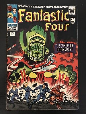 FANTASTIC FOUR #49 (Second Appearance of both Galactus and the Silver Surfer)