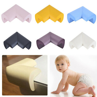 8Pcs Baby Proof Edge Guard Protector Bumper Kid Safety Desk Table Corner Cushion