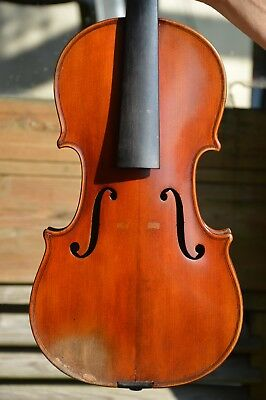 Old French Violin labelled Marius DIDIER 1923 great condition