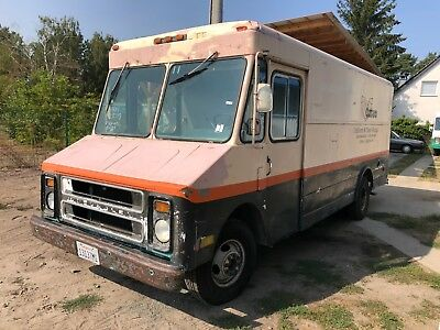 1986 Chevy P20 P30 Step Van Food Truck Verkaufswagen Chevrolet Party Bus Eventmo