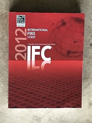 2012 International Fire Code Very Good Condition