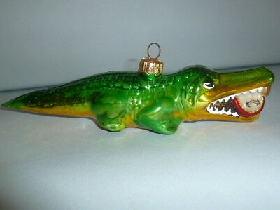 Kurt Adler Polonaise by Komozja Christmas Ornament Crocodile