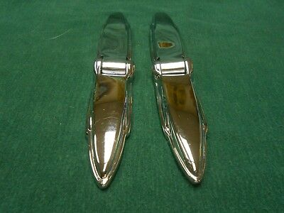 1935 1936 Chrysler Desoto Dodge Plymouth Chrome Trunk Hinges New