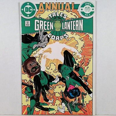 Tales of the Green Lantern Corps Annual - No. 1 - DC Comics, Inc. - 1985 - NR