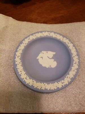 Wedgewood Blue 5 Inch Angel Plate