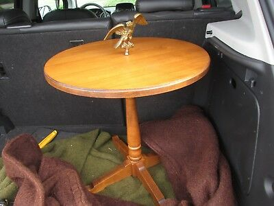Vintage Tell City Rare Eagle Chair Side Table, Andover 48 No. 851