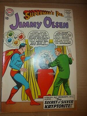 SUPERMAN'S PAL JIMMY OLSEN Comic - No 70 - Date 07/1963 - DC / National Comics