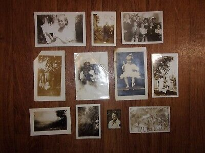 Eleven Vintage photos John B. Clemmons Family Noted African American Scholar