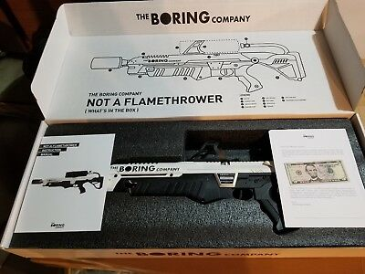 The Boring Company🔥not A Flamethrower🔥everything In 📦 Is Yours❗️new Unused❗️