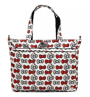 *BRAND NEW IN PACKAGE* Ju-Ju-Be Hello Kitty Super Be Zippered Tote, Peek A Bow