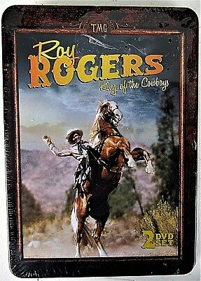New  ROY ROGERS COLLECTION DVD KING OF THE COWBOYS  (2-DVD Set) Western Movies