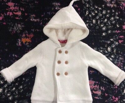 Sprout Baby Girls Hooded Cardigan Jacket 00