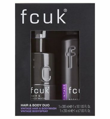 Men's FCUK Vintage Duo Gift Set