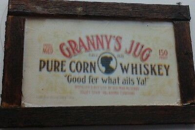 Dolls House Granny's jug Whiskey Picture