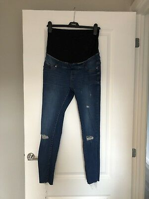 New Look Maternity Jeans/Jeggings, Size 8, Over The Bump