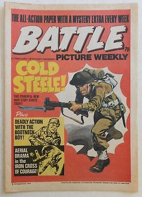 BATTLE Comic - 21st February 1976