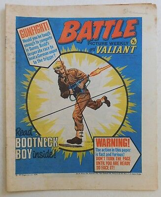 BATTLE & VALIANT Comic - 26th December 1976