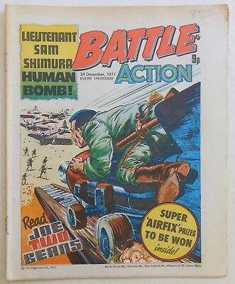 BATTLE - ACTION Comic - 24th December 1977