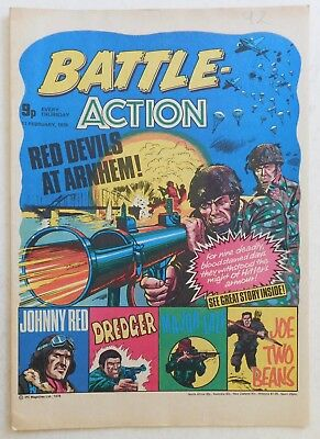 BATTLE - ACTION Comic - 11th February 1978
