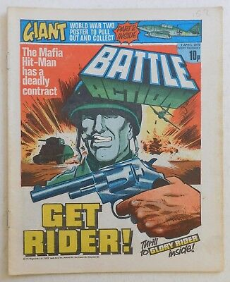 BATTLE - ACTION Comic - 7th April 1979